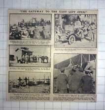 1917 Palestine, Boxing Match, Soda Fountain, Cemetery,
