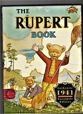 87 x THE RUPERT 1941 FACSIMILE ANNUAL Reprint book Bulk Sale COLLECTION ONLY!!