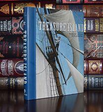 Treasure Island Robert Stevenson New Unabridged  Illustrated Hardcover Gift Ed