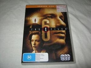 The X Files - Season 6 - VGC - DVD - R4
