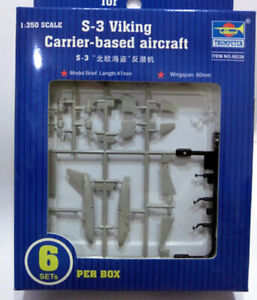 Carrier based aircraft S-3 Viking scale 1/35 Trumpeter