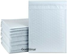 0 65x 10 White Color Poly Bubble Envelopes Mailers Bags Padded Shipping