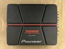 Pioneer GM-A3702 500 Watts 2-Channel Bridgeable AMPLIFIER UNIT ONLY