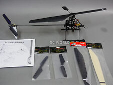 RC HELICOPTER 4 Channel Fixed Pitch HOBBY Grade HELICOPTER Assembly KIt