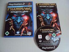 """PS2  /Playstation 2 """" Champions """" Return to Arms  """" Best of PS2 Games!"""