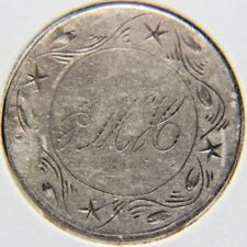 No Date 25C Liberty Seated Quarter - Love Token - Lot # Lt 297