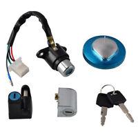 Ignition Switch Lock Fuel Cap Key Set For Honda CMX250 Rebel 85-15 CMX250 95-99