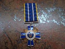 MEDAL ORDER POLICE UKRAINE - LAW AND HONOR- ORIGINAL! RARE!