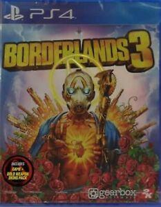 Borderlands 3 Asia Chinese/English/Japanese subtitle PS4 BRAND NEW