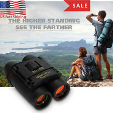 Mini Portable Day/Night 30x60 Zoom Military Binoculars Optics Hunting Camping Us
