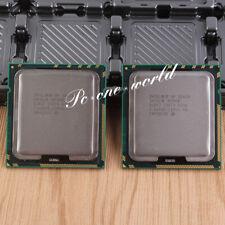 A pair Intel Xeon X5650 2.66GHz Processor LGA 1366 CPU 3200 MHz 12MB Six-Core