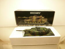 MINICHAMPS 11001 LEOPARD 2 A4 GERMAN TANK - CAMOUFLAGE 1:35 - VERY GOOD IN BOX