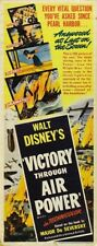 Victory through air power Disney 43 propaganda poster print #3