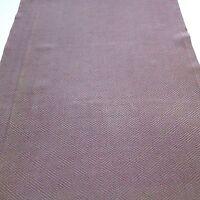"Vintage Kimono Fabric Silk Brown Green Flower 150cm 59/"" inches R31"
