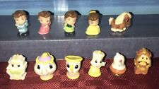 DISNEY PRINCESS SQUINKIES BEAUTY AND THE BEAST MINI FIGURINES & BUBBLES