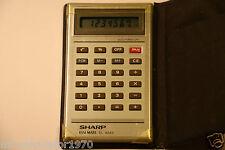 Vintage Sharp Elsi Mate EL-824S Calculadora De Bolsillo