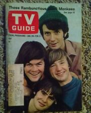 RARE 1967 TV GUIDE Vol 15 #4 THE MONKEES MAGAZINE MUSIC BOOK