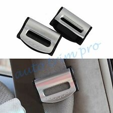 2X Car Accessories Seat Belt Safety Stopper Adjuster Holder Buckle Plastic Clip