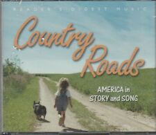 Readers Digest Country Roads America Story Songs 4CD GOD BLESS U.S.A SHENANDOAH