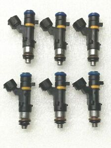 OE Bosch Fuel Injector Set X 6 for16600-CD70A 350Z Murano F35 G35 M35 3.5L V6