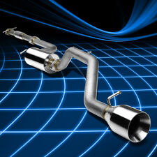 4.5''ROLL WALLED MUFFLER TIP CATBACK EXHAUST FOR 00-04 FOCUS ZX3/5 2.0L/2.3L I4