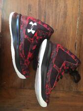 Under Armour (1276281-601) Lightning 2 PRT Basketball Shoe Red Camo  Size 11 Boy