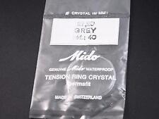 Watch Crystal Vintage Mido Waterprf Permafit 27.20mm Grey Tensn Ring Ref#40 NOS