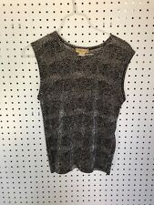 WOMEN PLISSE SLEEVELESS TOP SHIRT SIZE S SMALL