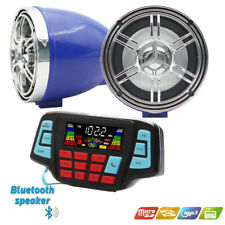 UTV,ATV, Motorcycle AMP Speakers USB Audio System Stereo Waterproof Bluetooth
