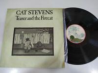 """Cat Stevens Teaser And The Firecat 1971 Ariola Spain Edit - LP vinyl 12 """" G VG"""