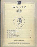Chopin ~ Walzer Op. 34 No. 1