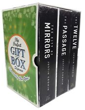 Justin Cronin Collection Passage Trilogy 3 Books Gift Wrapped Box Set New