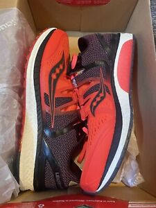 Saucony Liberty Iso   Women's Size US 9   Red/Black/Grey   Running Shoes