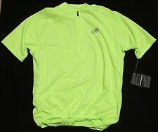 Performance Men's PBS Club Hi-Vis Yellow Cycling Jersey Sz Small NWT $40