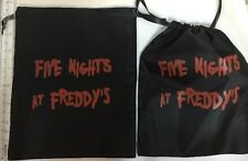 """FIVE NIGHTS AT FREDDY'S 8"""" Party GIFT CANDY GOODY BAGS NYLON Freddy, FNAF BAG"""