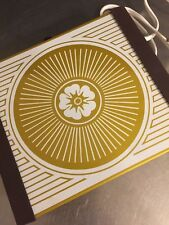 Vintage Hot Plate Warm O Tray Gold Daisy NIB Mid Century Mod Flower Power Works