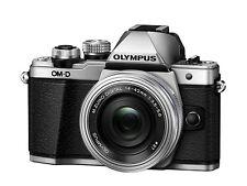 Olympus Om-d E-m10 II silver 14-42 PZ silver 40-150 Noir