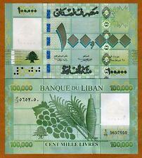 Lebanon, 100000 (100,000) Livres, 2011, P-95, UNC