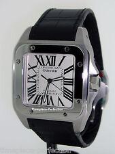 Cartier Santos 100 XL Mens Stainless Steel Watch  w20073x8