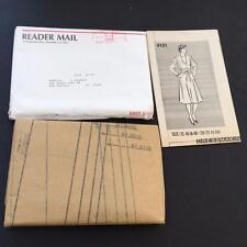 Reader Mail Order Sewing Pattern 1987 Dress 4121 Sz 12-26 Wrap Waist Uncut