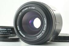 【Near Mint】 Mamiya 645 AF 55mm F2.8 Film Camera Lens for 645AF from Japan 0212