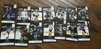 2018-19 LOS ANGELES KINGS TEAM ISSUE CARD SET OF 15 CARTER DOUGHTY KOPITAR SGA