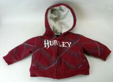 Hurley Skate 6 Month Red Baby Jacket