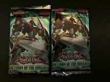 Lot of 2 YuGiOh 1st Edition Return of the Duelist Booster Packs New