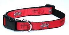 Guy Harvey Dog Collar Pirate Skull Red, Small