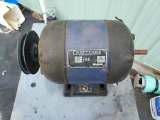 Vintage Craftsmanatlas 12 Hp Motor Amp Atlas Craftsman Lathe 1012