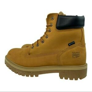 Timberland PRO Men's Direct Attach Waterproof 6'' Work Steel Toe Boots Size12M