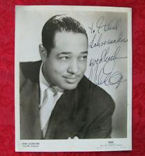 Jazz Great Duke Ellington Signed 8 x 10 Glossy Photo - NICE!!