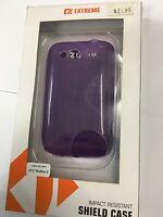 HTC Wildfire S Extreme TPU Shield Flexi Case in Purple XC-TPHTCWSPU. Brand New.