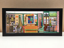 Friends TV Show Central Perk shadowbox diorama (Deluxe) -  art collector gift